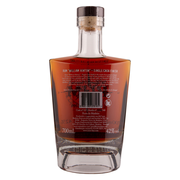 William Hinton Rum - Aged in Spanish fortified wine cask