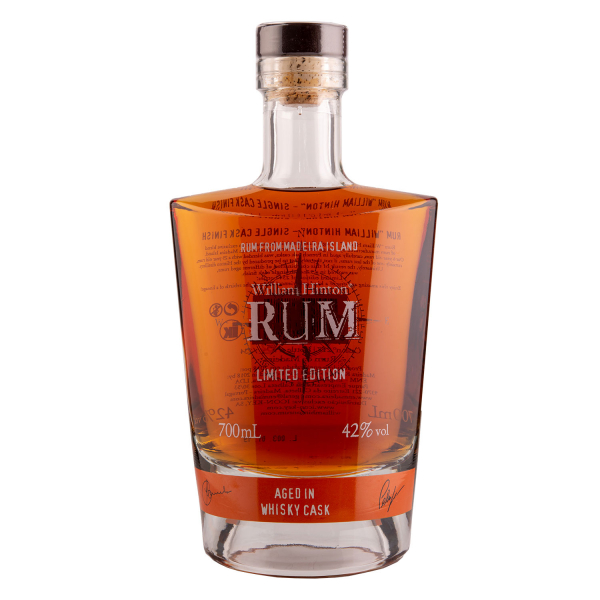 William Hinton Rum - Aged in Whisky cask