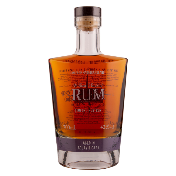 William Hinton Rum - Aged in Aquavit cask