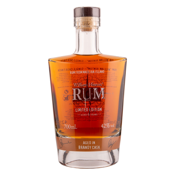William Hinton Rum - Aged in Brandy cask