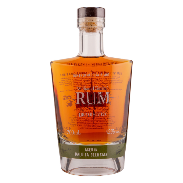 William Hinton Rum - Aged in Maldita Beer cask