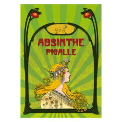 Poster Absinthe Pigalle